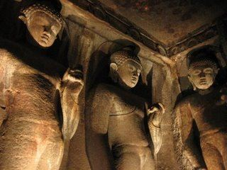 Ajanta Buddhist caves, India