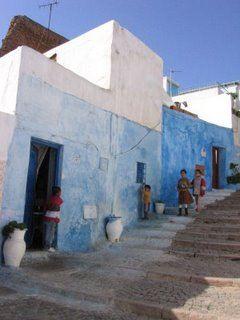 Children playing, Rabat, Morocco