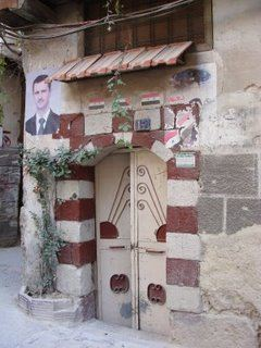 Door in the Old City, Damascus