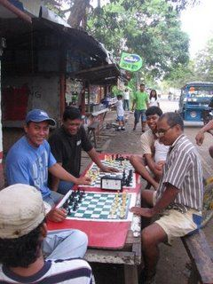 Men playing chess, Puerto Princesa, Palawan, Philippines