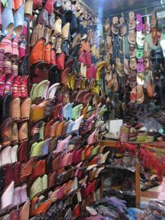 Moroccan Shoes For Sale, Marrakech