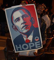 Obama Hope Poster, 2008 Presidential Campaign