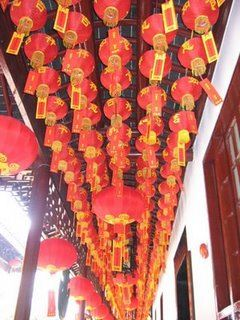 Red Lanterns Shanghai China