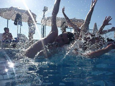 Water Cartwheels
