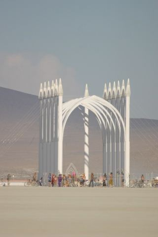Burning Man Church