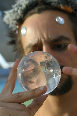 Burning Man Crystal Ball