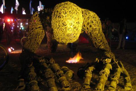 Burning Man Giant Man