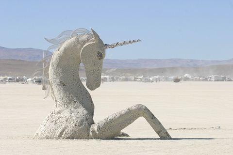 Burning Man Unicorn