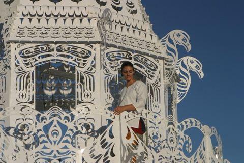 Burning Man White Princess