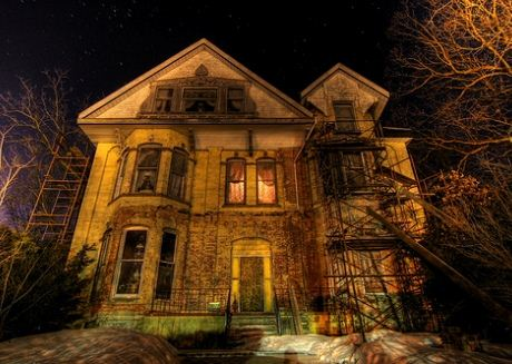Haunted House Michigan