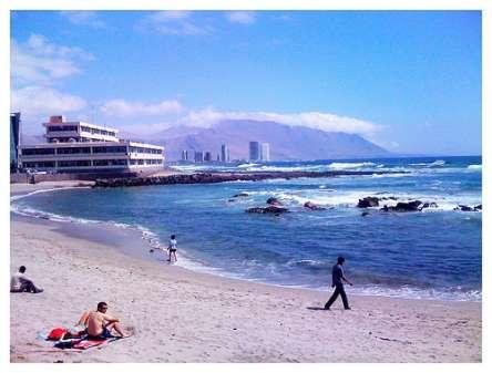 Iquique beach Chile