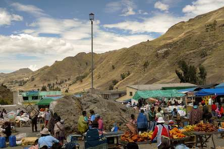 Zumbahua Market, Ecuador