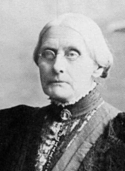 susan b anthony women s right to - susan b anthony susan brownell anthony was a magnificent women who devoted most of her life to gain the right for women to vote she traveled the united states by stage coach, wagon, and train giving many speeches, up to 75 to 100 a year, for 45 years.