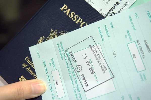 Get Your Passport Stamp On A Separate Sheet Of Paper To Keep Future Travel Options Open